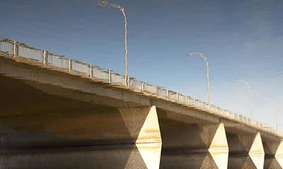 Dundas Street Bridge Art Print by Michael Rutland