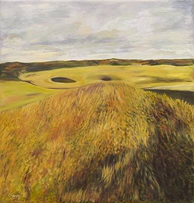 Painting - Dundonald Golf Course by Christina Knapp