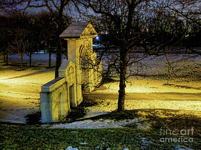 Dundurn Castle Gate Art Print