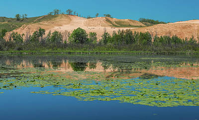 Photograph - Dune Climb Reflection by Dan Sproul