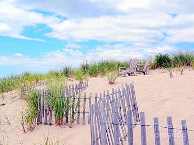 Photograph - Dune Days by Ed Weidman