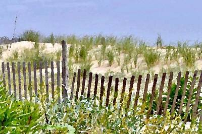 Photograph - Dune Fence by Kim Bemis