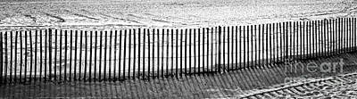 Photograph - Dune Fence Panorama by John Rizzuto