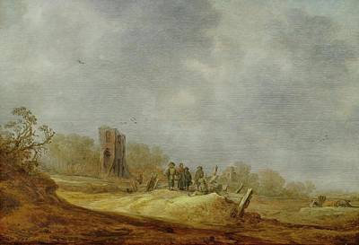 1596 Painting - Dune Landscape With The Eik by MotionAge Designs