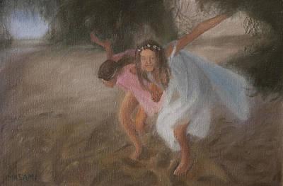 Painting - Dune Nymphs by Masami Iida