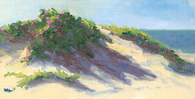 Chatham Digital Art - Dune Roses by Barbara Hageman