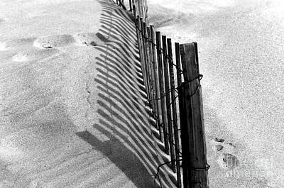 Photograph - Dune Shadows At Point Pleasant by John Rizzuto