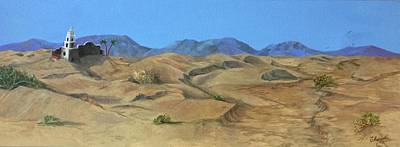 Painting - Dune Shadows by Charme Curtin