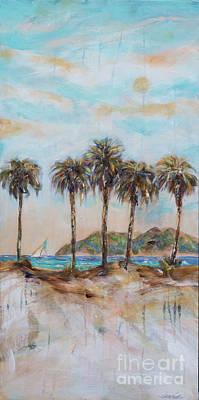 Painting - Dune Shadows by Linda Olsen