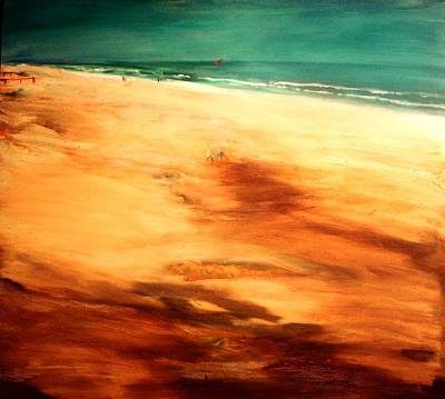 Painting - Dune Shadows by Winsome Gunning