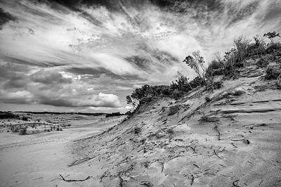 Photograph - Dune Sky by Alan Raasch