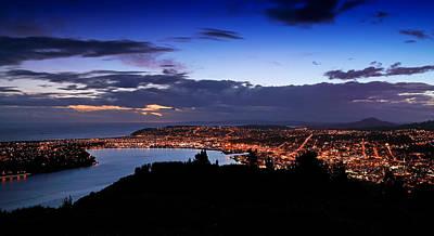 Photograph - Dunedin By Dusk by Nicholas Blackwell