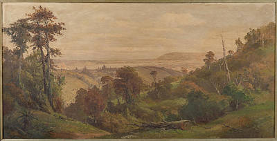 Hill Painting - Dunedin From Pine Hill by George Carrington