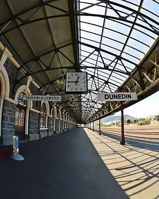 Photograph - Dunedin Railway Station by KJ Swan