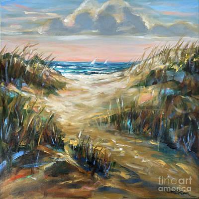 Painting - Dunes Afternoon by Linda Olsen