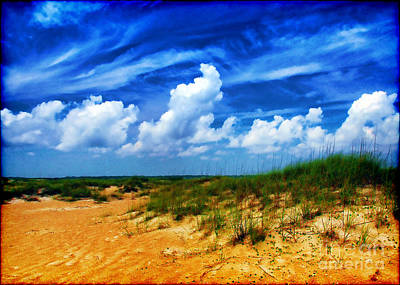 Photograph - Dunes At Bald Head Island by Judi Bagwell
