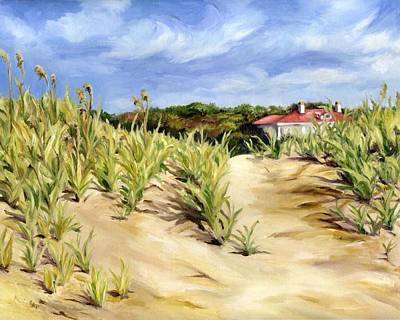 Painting - Dunes At Seabrook by Cheryl Pass