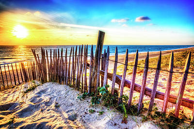 Photograph - Dunes At The Coast by Debra and Dave Vanderlaan