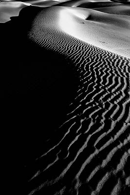 Photograph - Dunes In Shadow by Jon Glaser