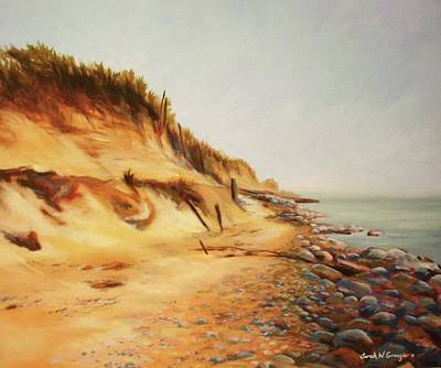 Painting - Dunes Of Montauk by Sarah Grangier