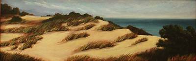 Painting - Dunes Of South Hampton by Sarah Grangier