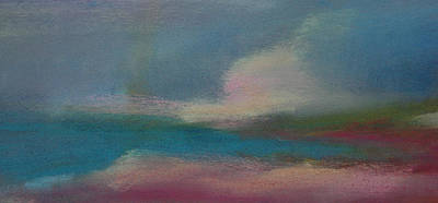 Pastel - Dunes On The Horizon by Barbara Jacobs