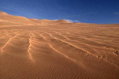 Art Print featuring the photograph Dunes Reward.. by Al Swasey
