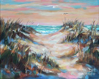 Painting - Dunes Sunrise by Linda Olsen