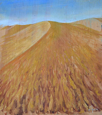 Death Valley Painting - Dunes by Tom Dauria