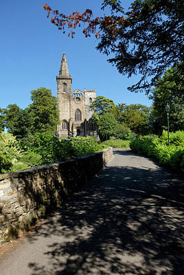 Photograph - Dunfermline Abbey by Jeremy Lavender Photography