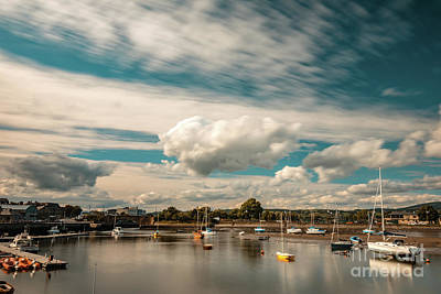 Photograph - Dungarvan Harbour B by Marc Daly