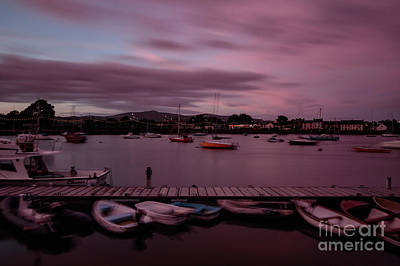 Photograph - Dungarvan Harbour Sunset by Marc Daly