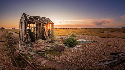 Photograph - Dungeness Beach by Kelvin Trundle