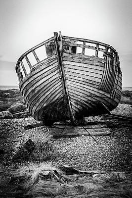 Photograph - Dungeness Fishing Boat. by Kelvin Trundle