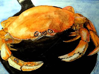 Painting - Dungeness For Dinner by Carol Grimes