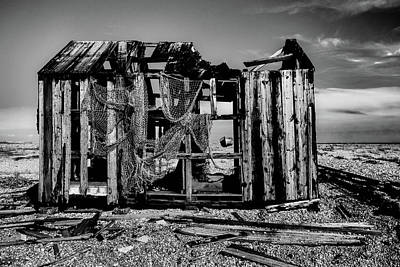 Black And White Photograph - Dungeness No 4 by Claire Doherty