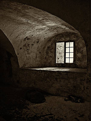 Photograph - Dungeon - 365-342 by Inge Riis McDonald