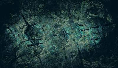 Digital Art - Dungeon by Doug Morgan