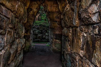 Photograph - Dungeon Walls by Randy Walton