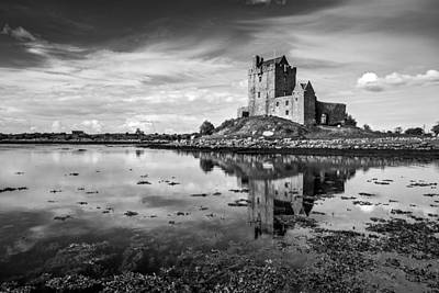 Photograph - Dunguaire Castle In Black And White by Pierre Leclerc Photography
