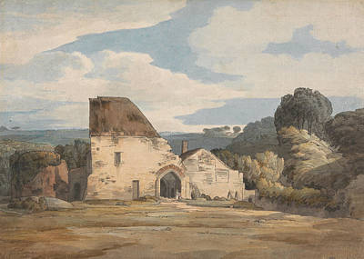 Painting - Dunkerswell Abbey, August 20, 1783 by Francis Towne