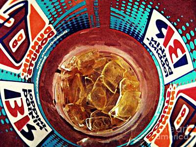 Photograph - Dunkin Ice Coffee 19 by Sarah Loft