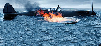 Submarine Digital Art - Dunkirk by Alice Kent