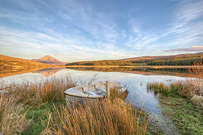 Strabane Photograph - Dunlewey Lake - Donegal - Ireland by Gareth Wray