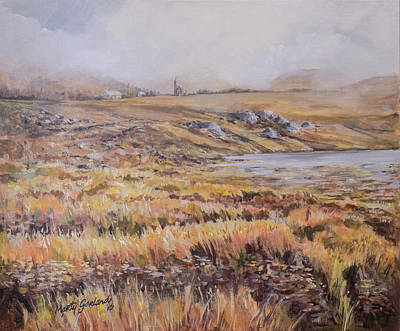 Painting - Dunlewey View by Marty Garland