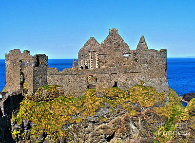 Photograph - Dunluce Castle 2 by Nina Ficur Feenan