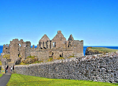 Photograph - Dunluce Castle 3 by Nina Ficur Feenan
