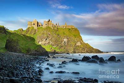 Photograph - Dunluce Castle Rocks by Brian Jannsen