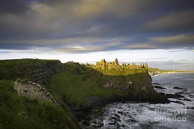 Photograph - Dunluce Castle Sunrise by Brian Jannsen
