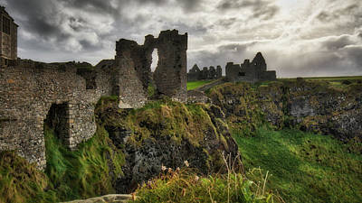 Photograph - Dunluce Castle by Windy Corduroy
